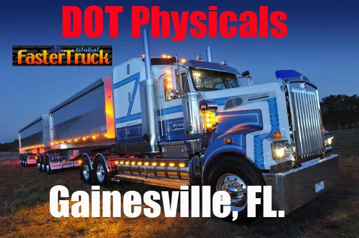 DOT Physicals Fastertruck.com Directory Florida