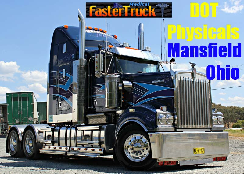 DOT Physicals Fastertruck.com Directory Ohio