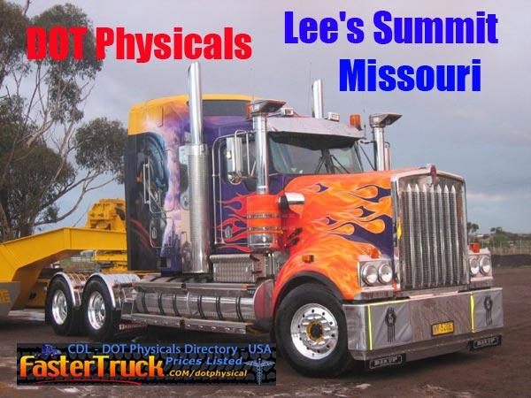 DOT Physicals Fastertruck.com Directory Missouri