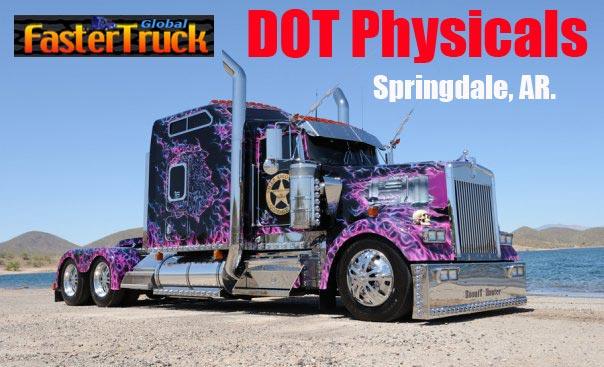 DOT Physicals Fastertruck.com Directory Arkansas