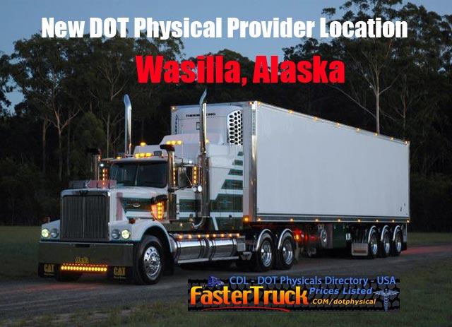 DOT Physicals Fastertruck.com Directory Alaska