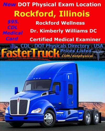 DOT Physicals Fastertruck.com Directory Illinois