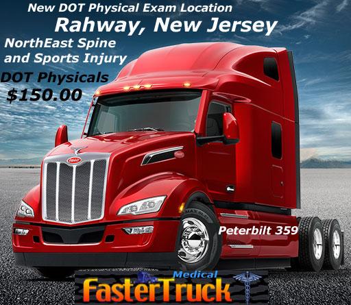 359 Peterbilt DOT Physicals Fastertruck.com Directory New Jersey