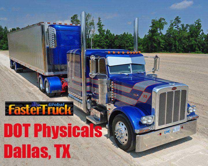 DOT Physicals Fastertruck.com Directory Texas