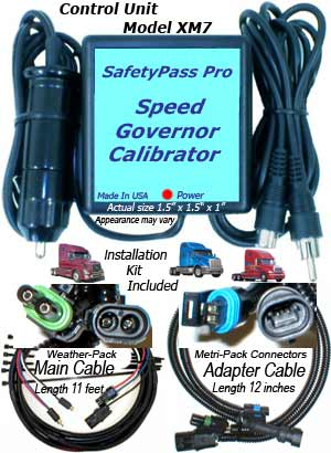 Big Rig Trucks Go Faster with the SafetyPass Pro