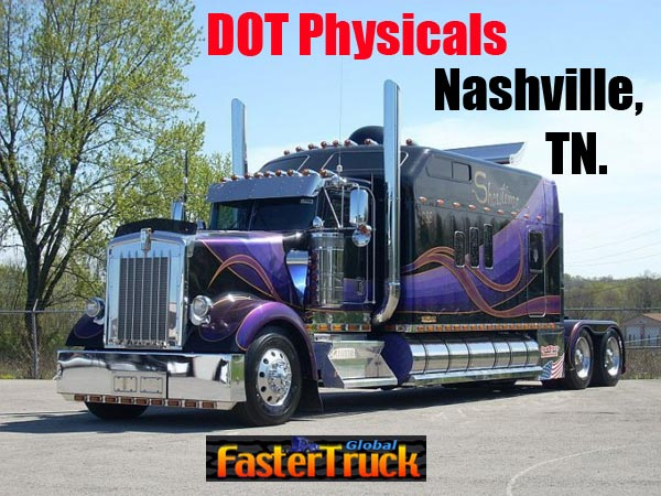 DOT Physicals Fastertruck.com Directory Tennessee