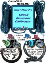 Speed Governor Calibrator Control Unit. Includes XM7IK Installation Kit.