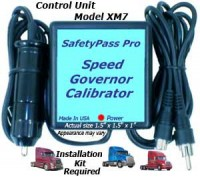 Speed Governor Calibrator Control Unit Only. Works with XM7IK Installation Kit.