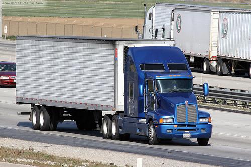 kenworth truck 53' trailer